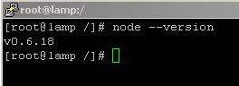 centos node.js