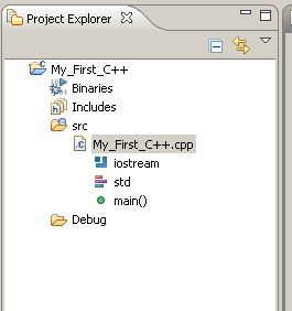 eclipse-c++-explorer
