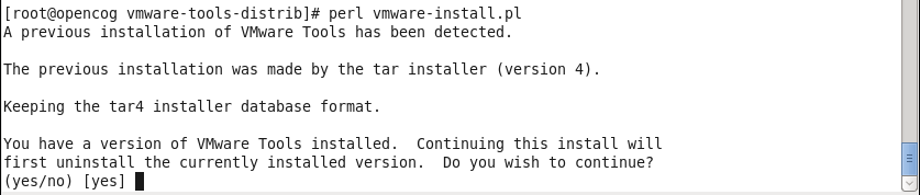 VMware Tools CentOS