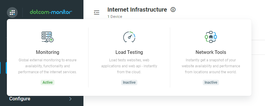 dotcom-monitor website monitoring features